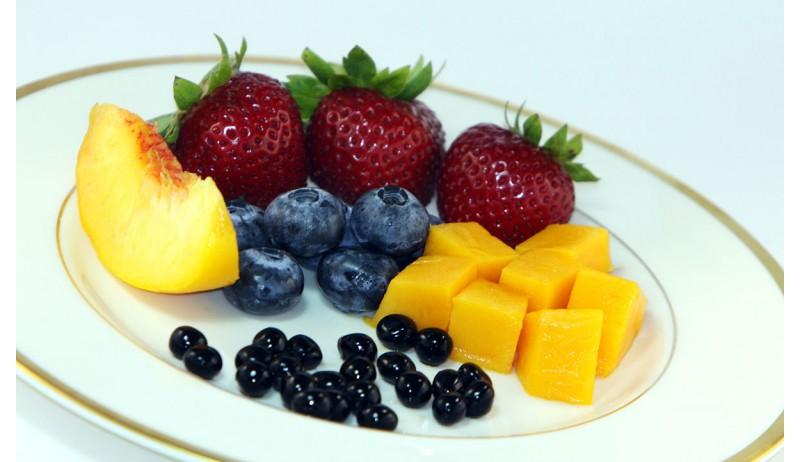 Fruit desserts with Balsamic vinegar