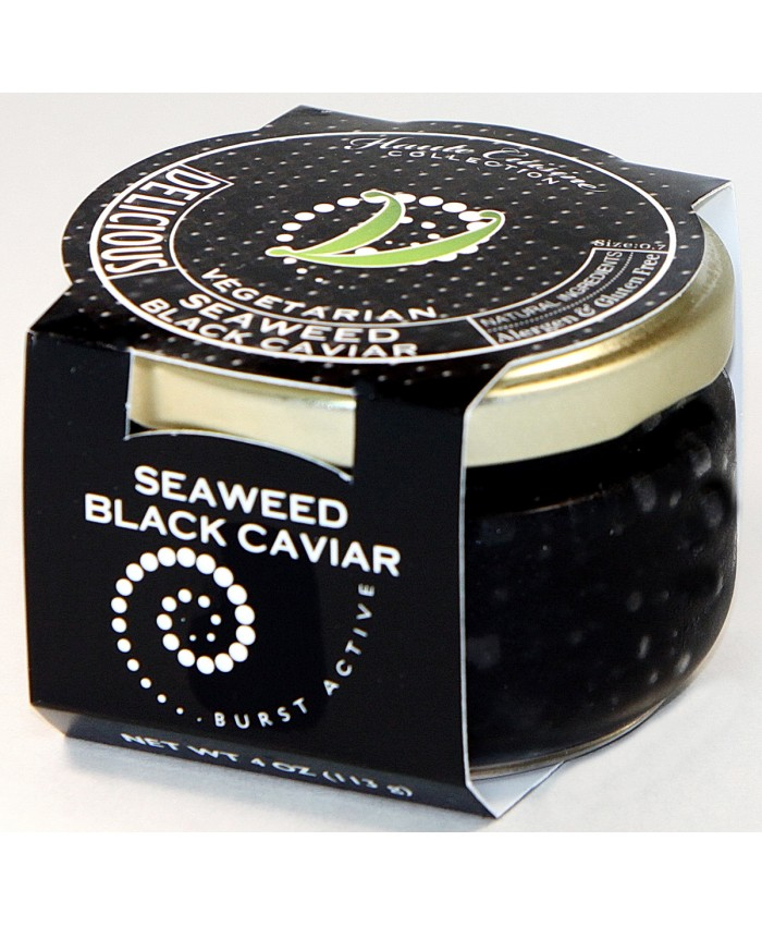 Seaweed Vegetarian/Vegan Black Caviar
