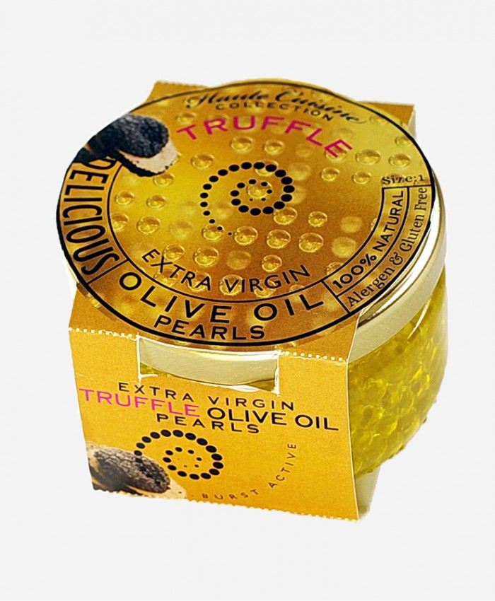 Extra virgin Truffle Olive oil Pearls
